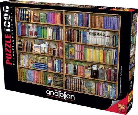 Puzzle Kitaplık. Bookshelves 1000 pcs