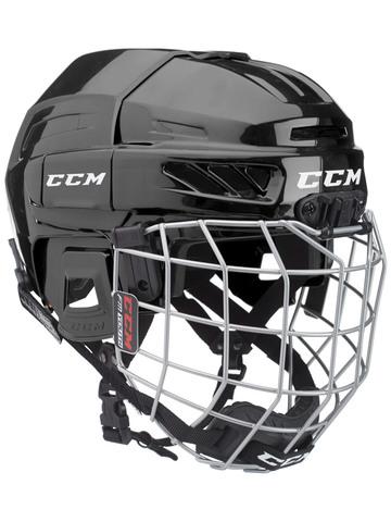 Шлем с маской CCM FITLITE 3DS YTH черный