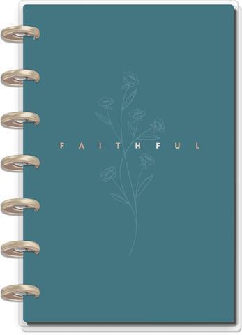 Ежедневник 12 Months - Mini Happy Planner -  Simple Faith  - 12,5х18см