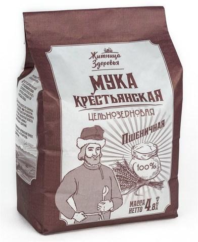 Мука Крестьянская пшеничная, 2 кг. (Житница здоровья)