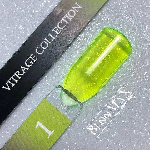 Гель лак с ароматом клубники Vitrage collection 01, 12 мл