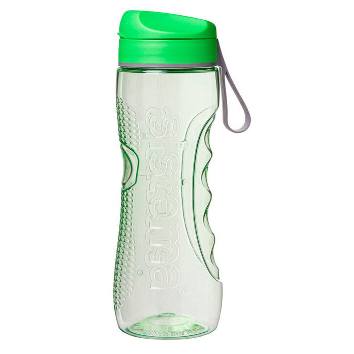 """Бутылка для воды Sistema """"Hydrate"""", Тритан, 800 мл, цвет Зеленый"""