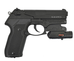 Пистолет пневматический Gamo PT-80 Combo laser 4,5 мм