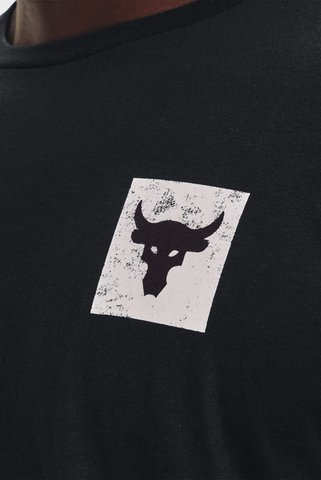 Мужской черный лонгслив UA Pjt Rock Brahma Bull LS Under Armour