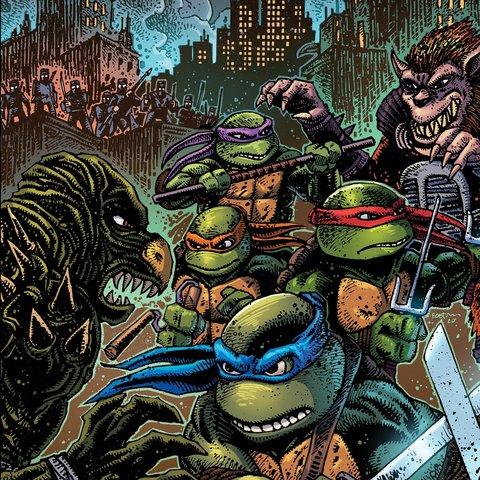 Виниловая пластинка. Teenage Mutant Ninja Turtles Part II: The Secret of the Ooze
