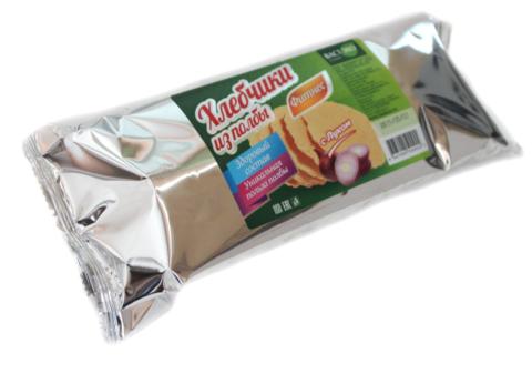 Хлебчики из полбы с луком, 70 гр. (ВАСТЭКО)