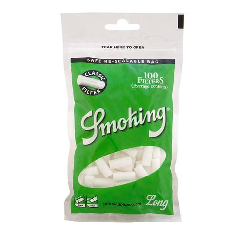 Фильтры для самокруток SMOKING Д/САМОКРУТОК Regular Classic Long 100
