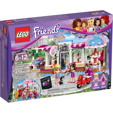LEGO Friends: Кондитерская 41119 — Heartlake Cupcake Cafe — Лего Френдз Друзья Подружки