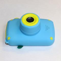 Фотоаппарат детский SmileZoom Мишка без селфи-камеры / Синий