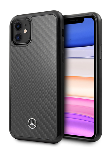 Mercedes / чехол для телефона iPhone 11 | Dynamic Real carbon Hard Black