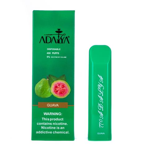 Одноразовая электронная сигарета Adalya Guava 5% 400 затяжек
