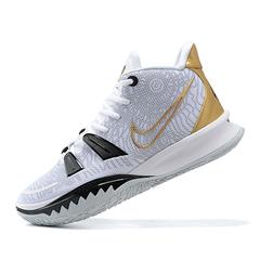 Nike Kyrie 7 'White/Black/Gold'