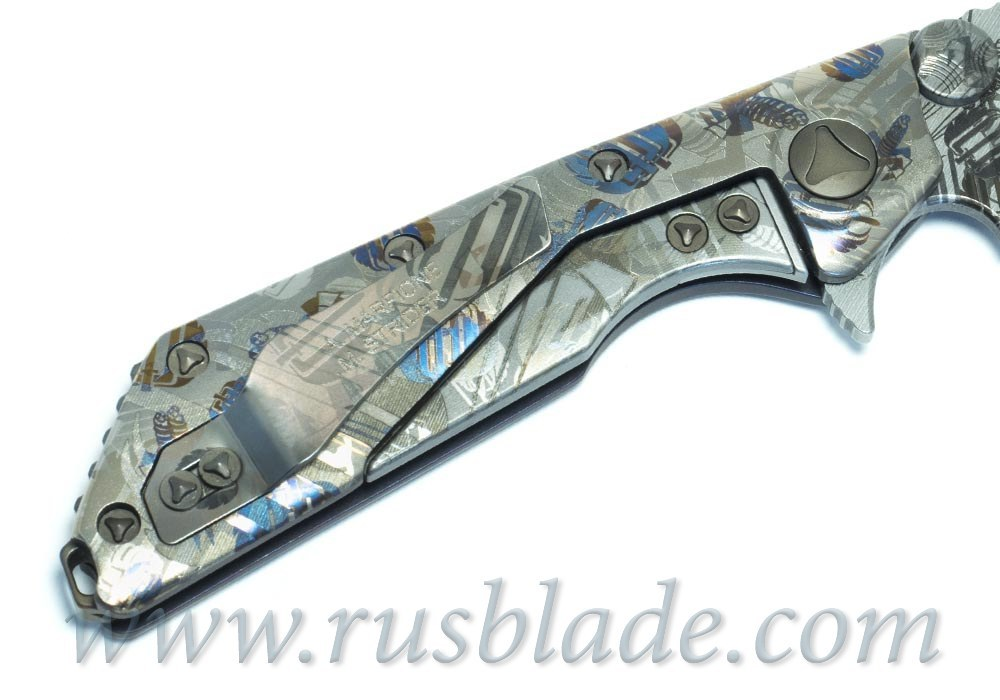 Marfione Strider DOC FULL TITANIUM Russian Edition