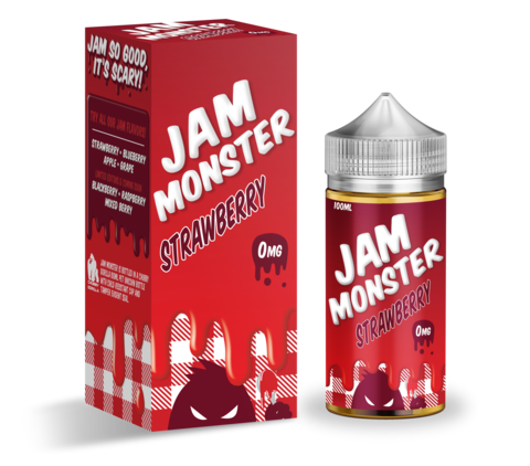 Jam Monster 100 мл Strawberry
