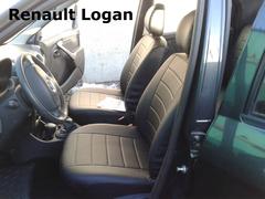 Чехлы на Renault Logan 2004–2015 г.в.