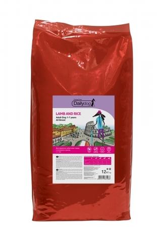 DailyDog Adult All Breed сухой корм для взрослых собак всех пород с ягненком и рисом 12 кг