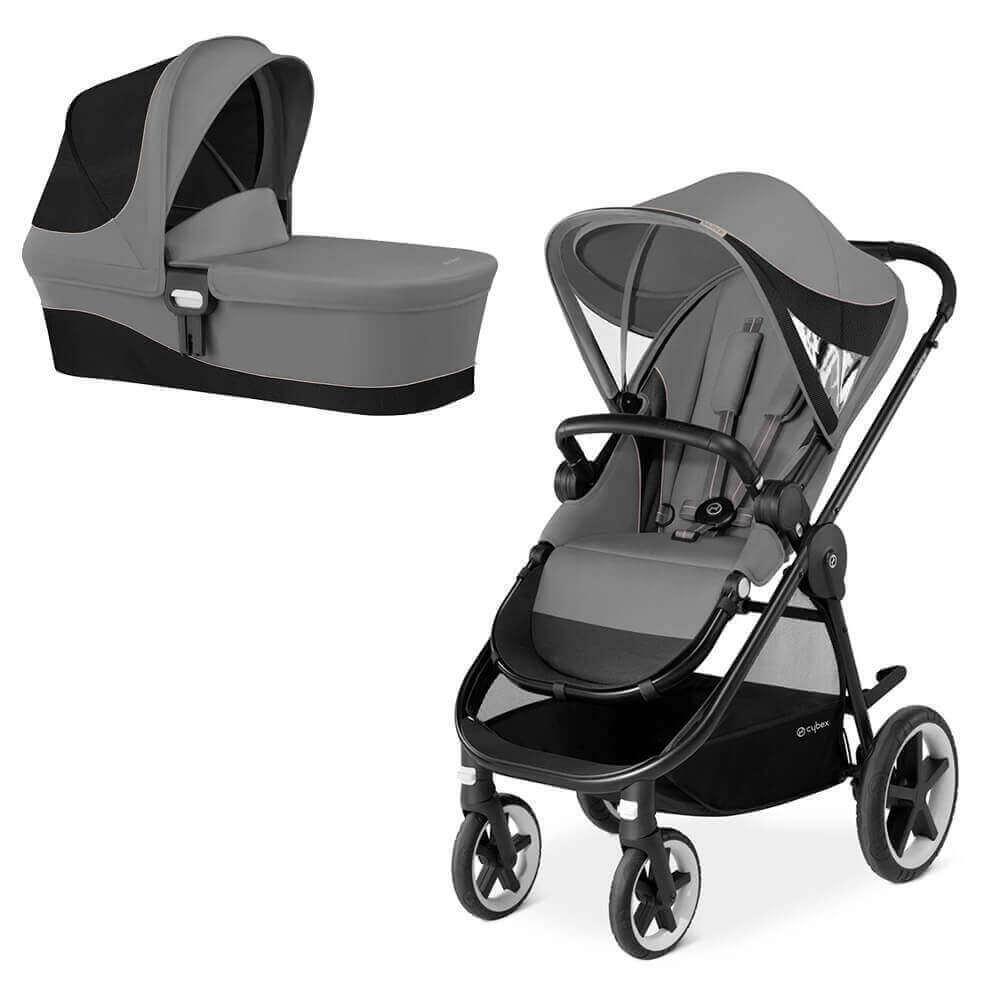 Cybex Balios M 2 в 1, для новорожденных Детская коляска Cybex Balios M 2 в 1  Manhattan Grey cybex-balios-m-2in1-manhattan-grey.jpg