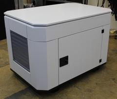 Домик для генератора SB1200DM вид слева