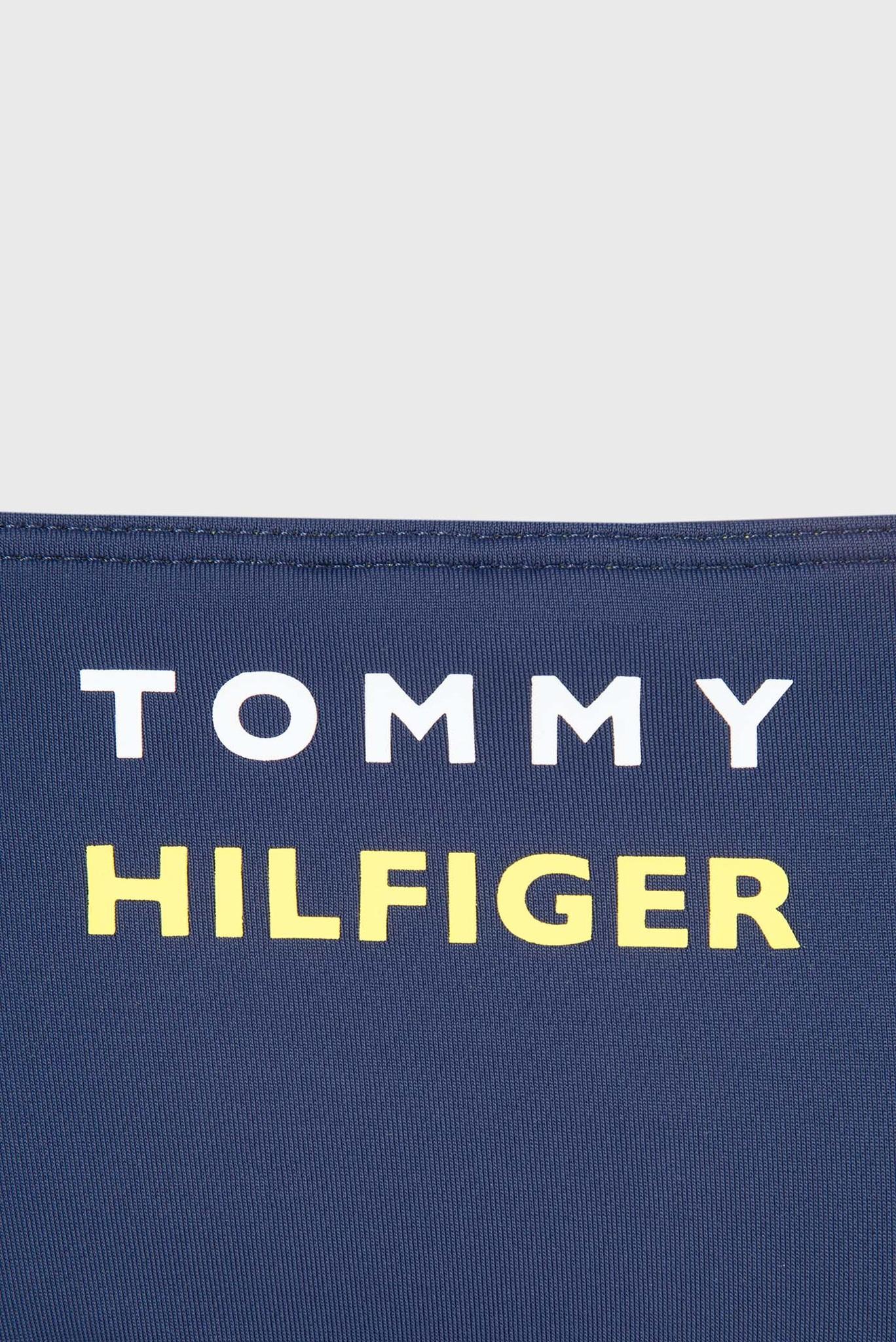 Женские темно-синие трусики от купальника Tommy Hilfiger