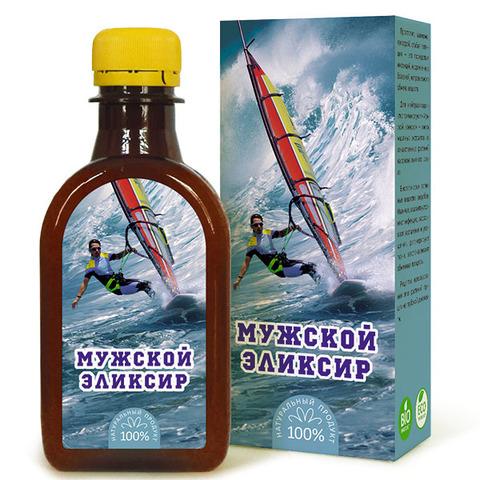 Масло льняное Мужской Эликсир КЗ 200мл