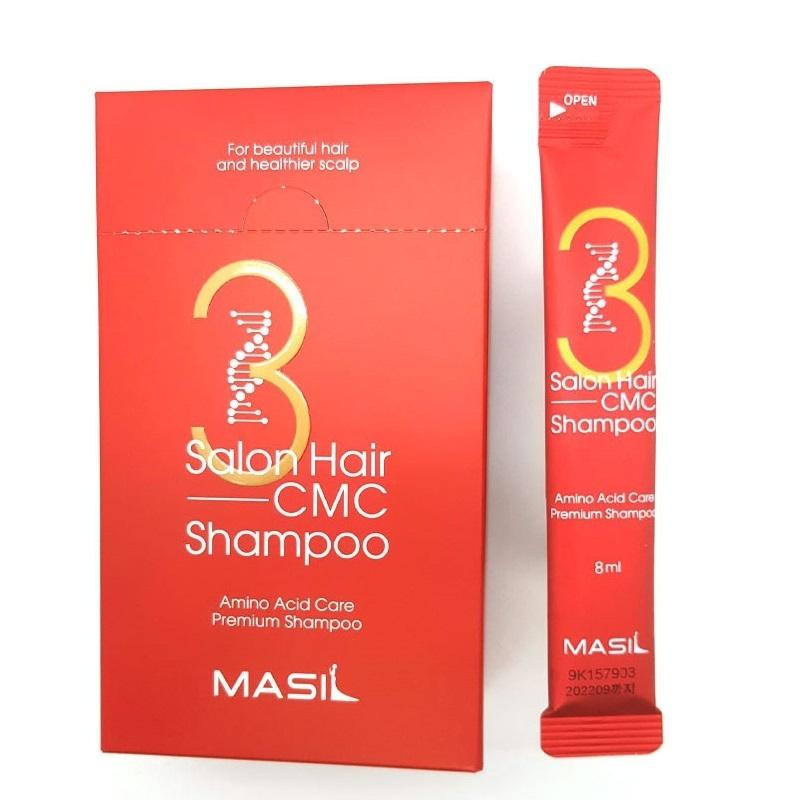 Шампунь для волос Шампунь для волос MASIL 3SALON HAIR CMC SHAMPOO STICK POUCH (1шт*8мл) Masil-3-Salon-Hair-C.jpg