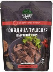 Туристическая еда Кронидов (Говядина тушеная высш. сорт 325 гр.)