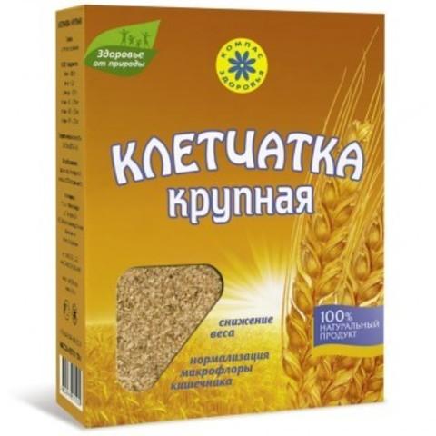 Клетчатка пшеничная крупная, 150 гр. (Компас Здоровья)