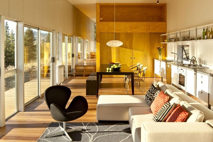 Кресло Arne Jacobsen Style Swan Chair черная шерсть - вид 2