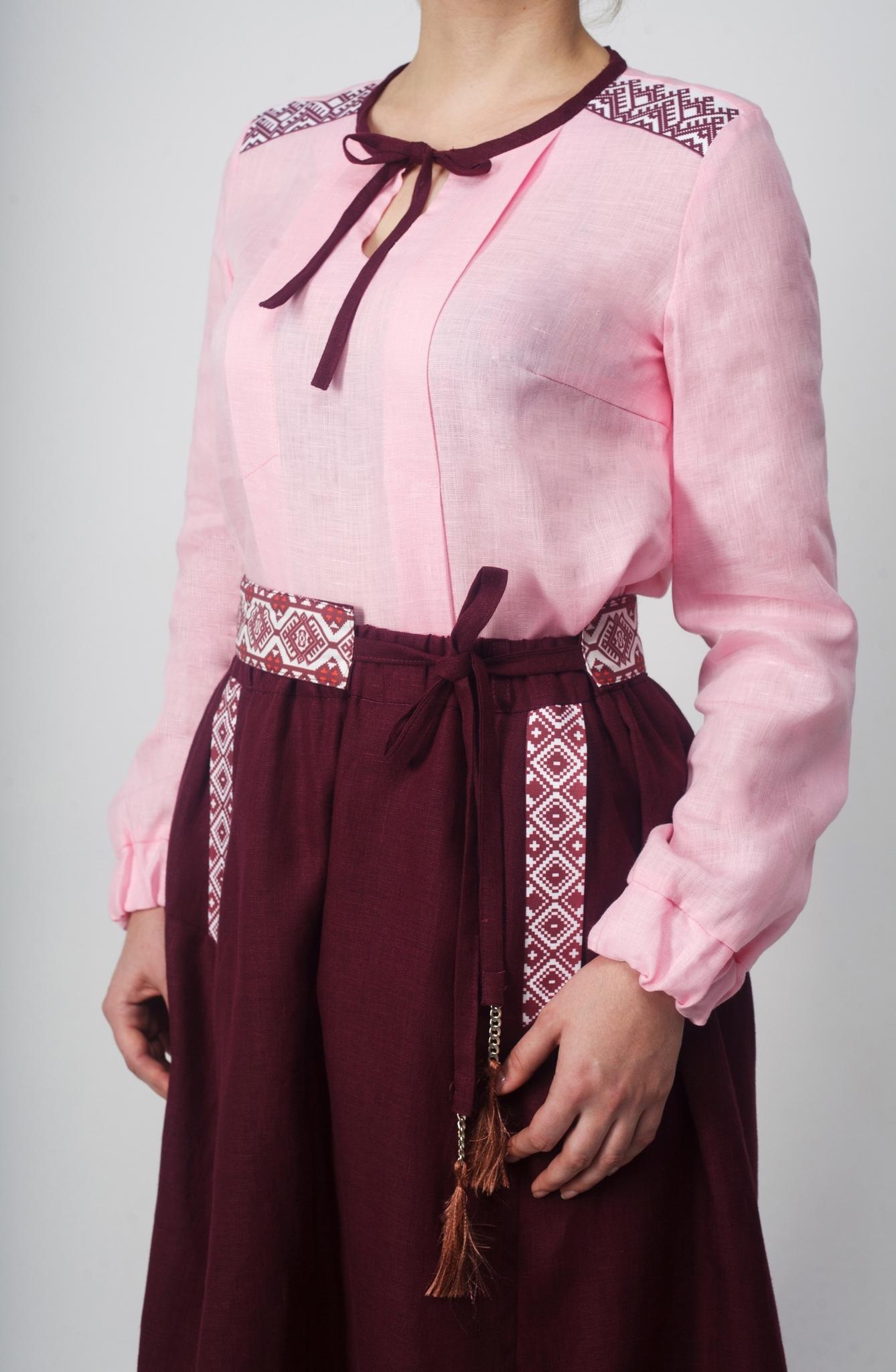 Блуза Самоцветы (Сапфир) Приближенный фрагмент