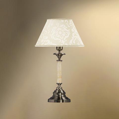 Настольная лампа с абажуром 29-402.56/3922 СТЕЛЛА