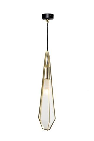 Светильник потолочный подвесной со стеклом (60GD-9932P/C) Garda Decor