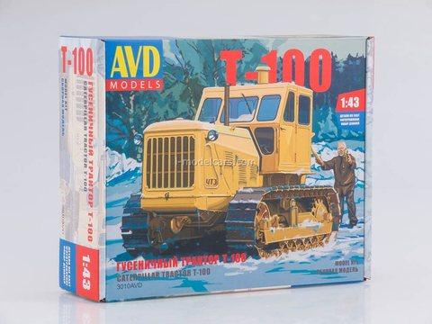Model Kit Caterpillar tractor T-100 AVD Models 1:43 AVD Models