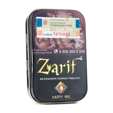 Табак Zarif Happy mix (Ром лайм мята лёд) 50 г