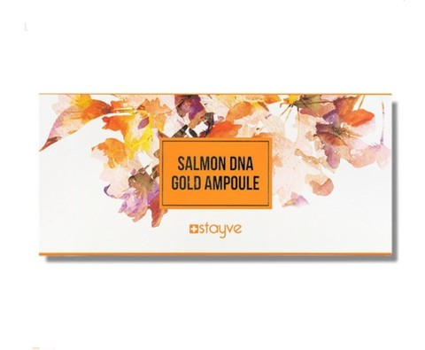 Stayve Salmon DNA Gold 1 Ampoule Сыворотка на основе ДНК лосося (1 упак. 10 ампул по 8 мл)