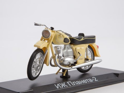 Motorcycle IZH-Planet 2 1:24 Our Motorcycles (MODIMIO Collections) #4