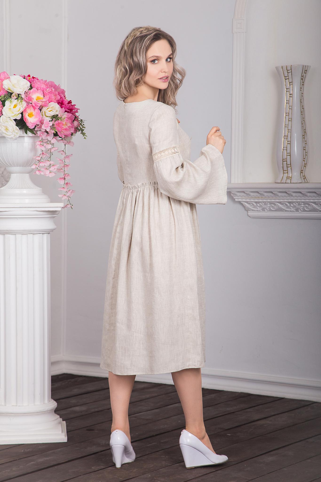 Иванка - одежда в русском стиле, платье Капитанская дочка