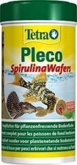 Корм для сомов, TetraPleco Spirulina Wafers, крупные чипсы