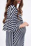 Блузка для беременных 08263 синий
