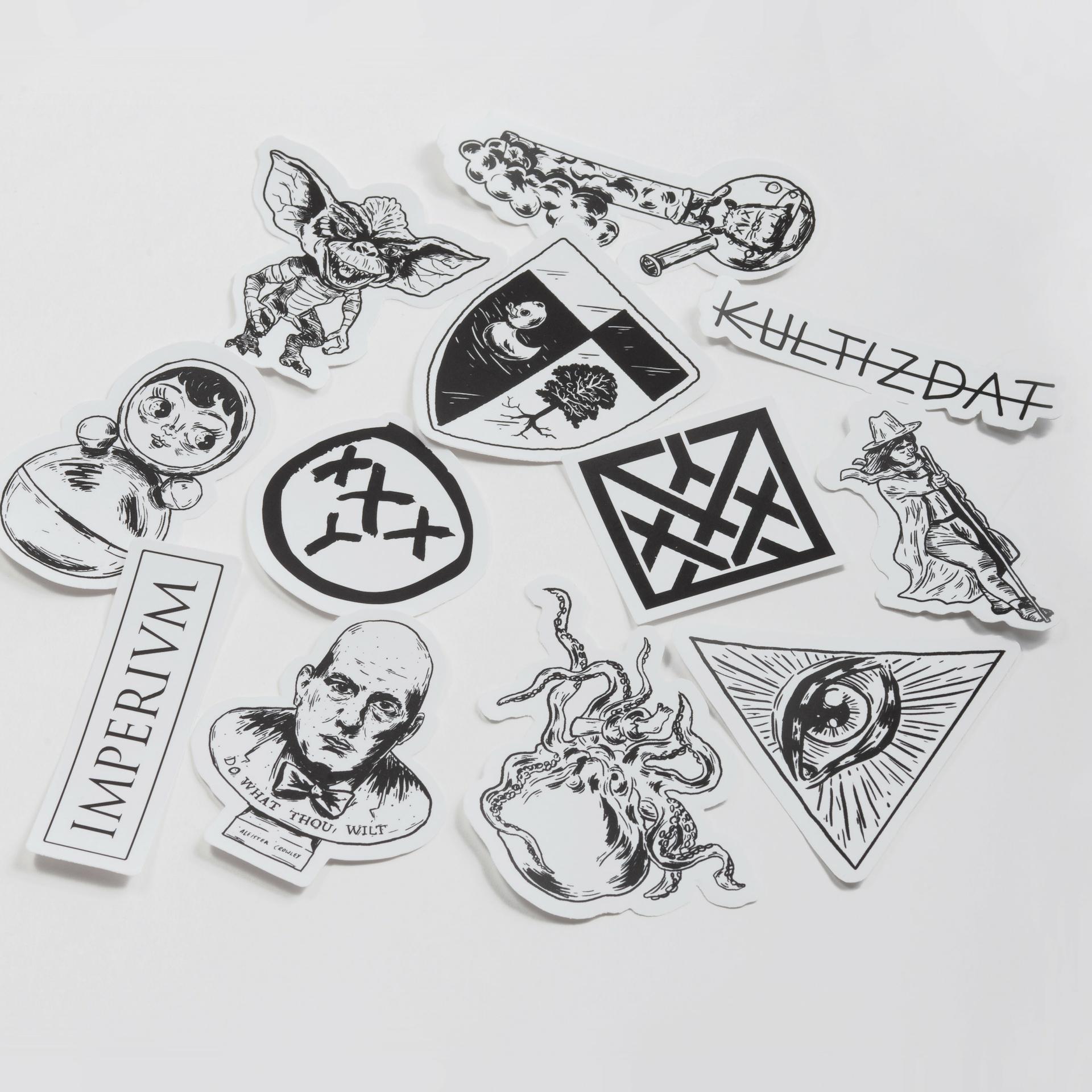 Стикеры «Микрокосмос»