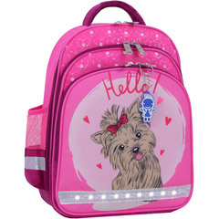 Рюкзак школьный Bagland Mouse 143 малиновый 167к (00513702)