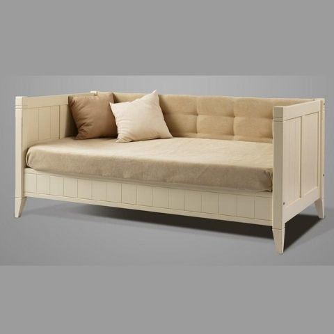 Тахта кровать мягкая Дания № 2