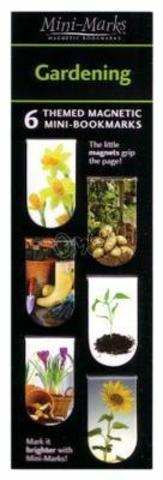 Magnetic bookmarks Gardenning