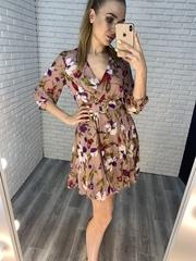 летнее платье с поясом nadya