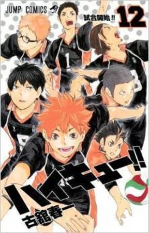 Haikyuu!! vol.12 (Japan Edition)