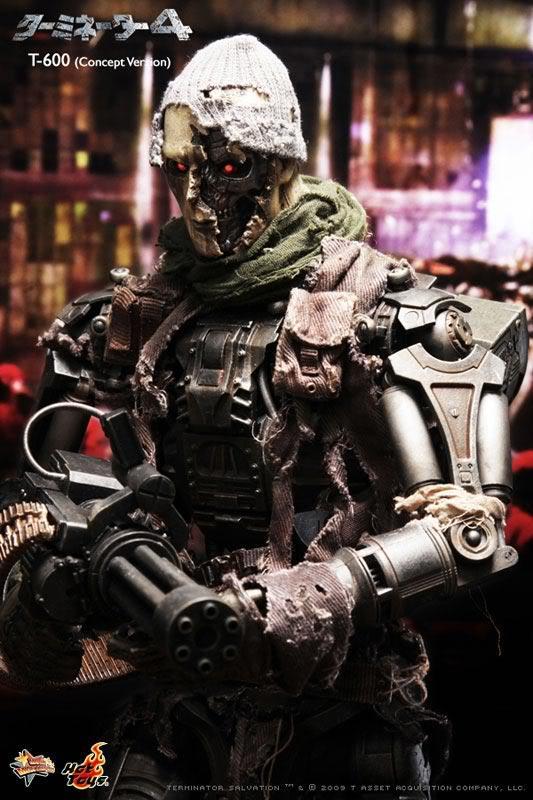 Terminator 4 Salvation T-600 Endoskeleton Concept Ver