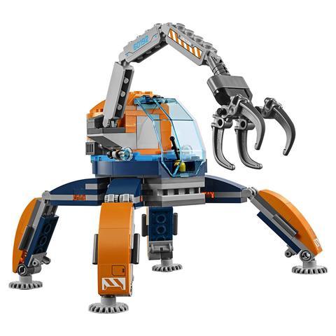 LEGO City: Арктическая экспедиция: Арктический вездеход 60192 — Arctic Ice Crawler — Лего Сити Город