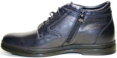 зимние классические ботинки мужские
