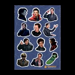 Набор стикеров Benedict Cumberbatch