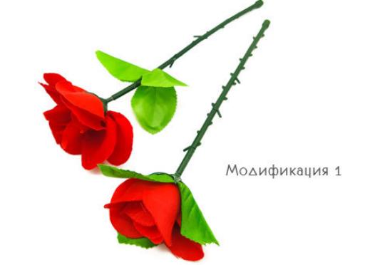 Появляющаяся роза (складная)