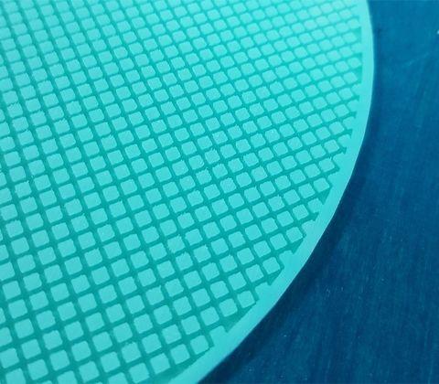 Коврик силиконовый круглый Сетка 2х2 мм D 19 см